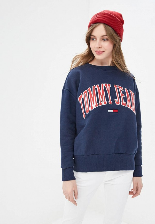 Свитшот Tommy Jeans Tommy Jeans TO052EWDQPB9 свитшот tommy jeans tommy jeans to052embhrv5