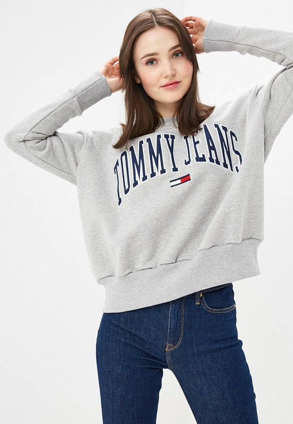 Свитшот Tommy Jeans Tommy Jeans TO052EWDQPC0 свитшот tommy jeans tommy jeans to052embwao8