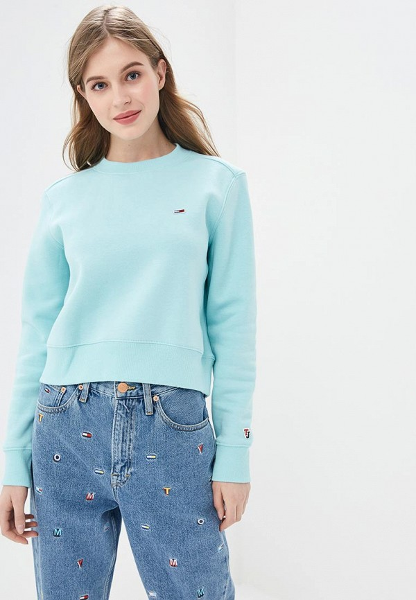 Свитшот Tommy Jeans Tommy Jeans TO052EWDQPD4 свитшот tommy jeans tommy jeans to052embwao8