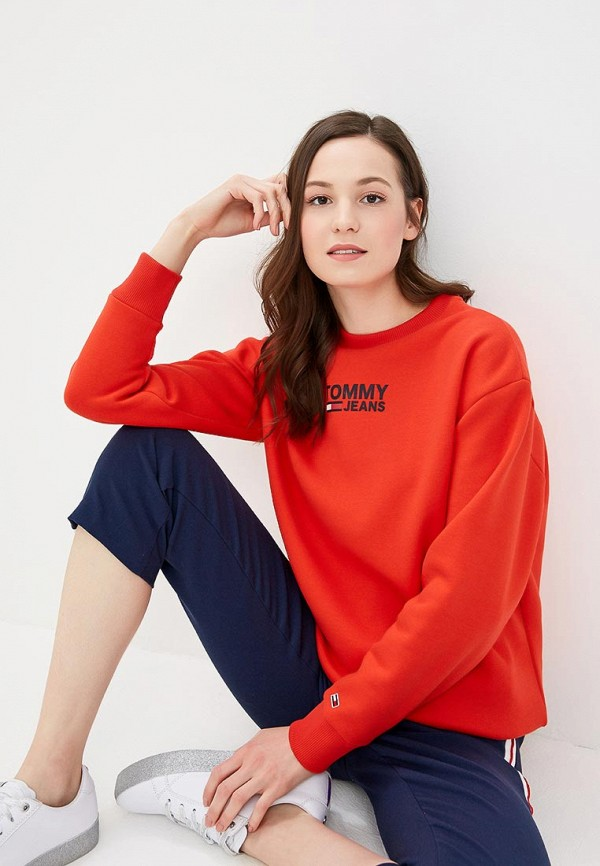Свитшот Tommy Jeans Tommy Jeans TO052EWDQPD6 свитшот tommy jeans tommy jeans to052embhrv5