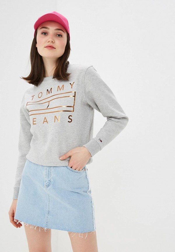 Свитшот Tommy Jeans Tommy Jeans TO052EWDQPD8 свитшот tommy jeans tommy jeans to052embwao8