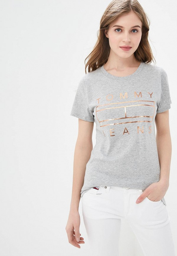 Футболка Tommy Jeans Tommy Jeans TO052EWDQPG4 цена