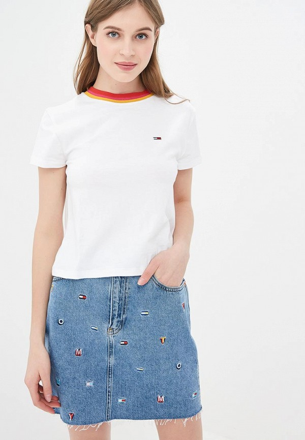 Футболка Tommy Jeans Tommy Jeans TO052EWDQPG6 цена