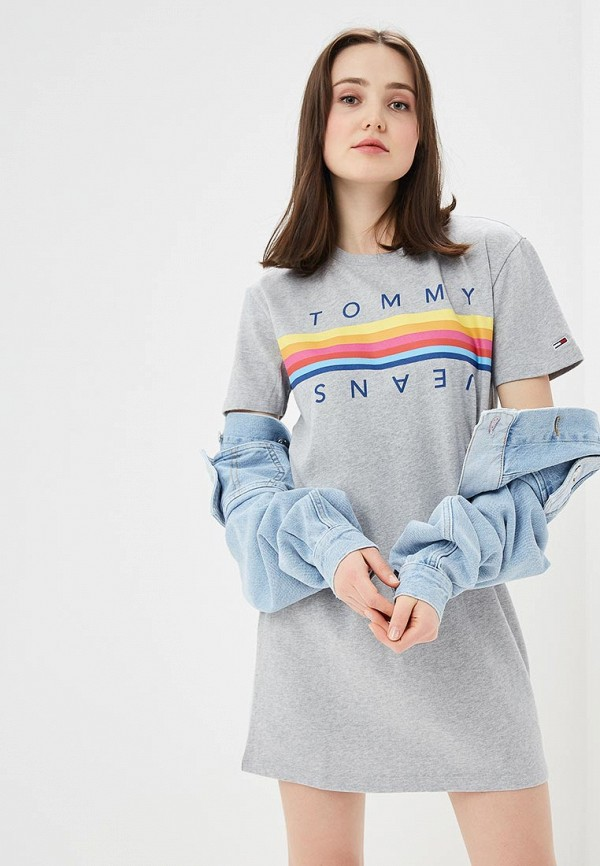 Футболка Tommy Jeans Tommy Jeans TO052EWDQPG8 футболка tommy jeans