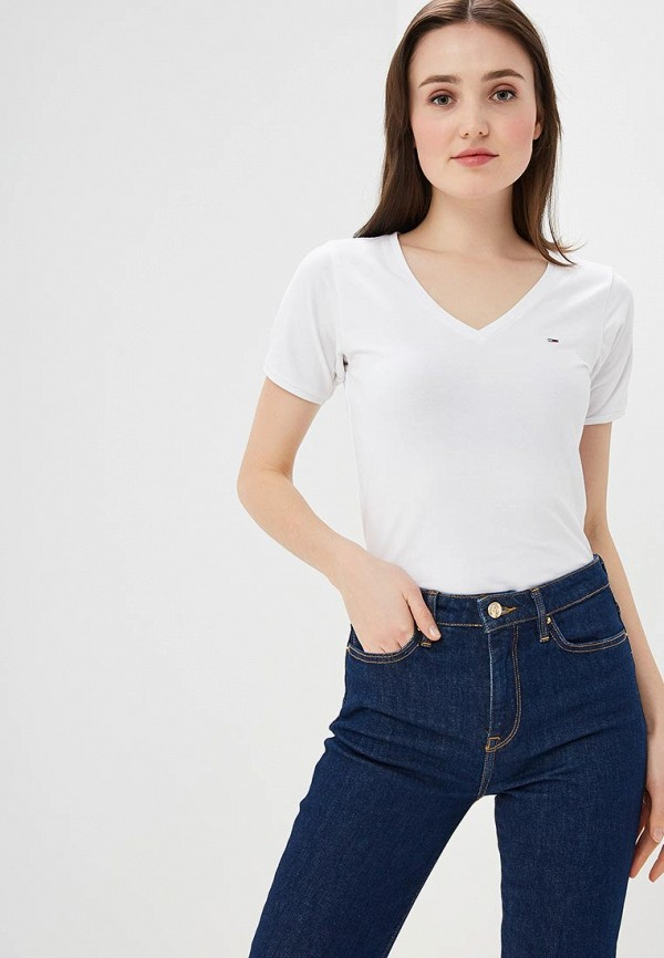 Футболка Tommy Jeans Tommy Jeans TO052EWDQPH2 цена