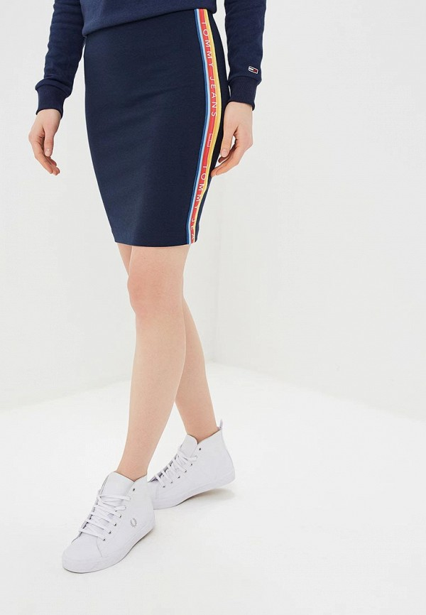 Юбка Tommy Jeans Tommy Jeans TO052EWDQPH3 цены онлайн