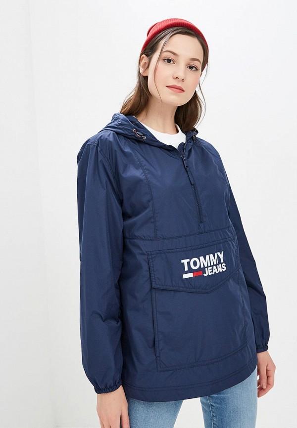 Ветровка Tommy Jeans Tommy Jeans TO052EWDQPJ9 пуховик tommy jeans tommy jeans to052ewdebl5