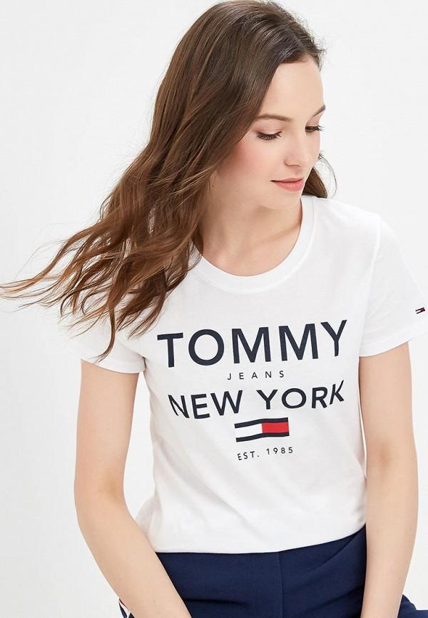 Футболка Tommy Jeans Tommy Jeans TO052EWDQPK5 цена