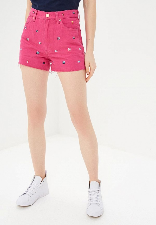 Шорты Tommy Jeans Tommy Jeans TO052EWDQPL5 шорты джинсовые tommy jeans tommy jeans to052emebru4