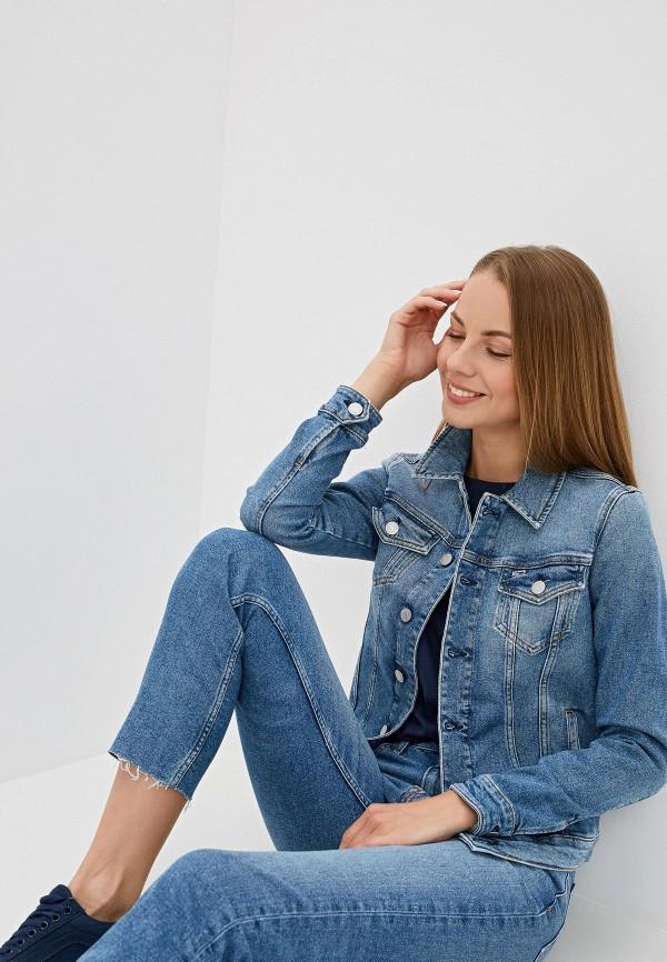 Куртка джинсовая Tommy Jeans Tommy Jeans TO052EWFEME4 куртка tommy jeans tommy jeans to052emaihp7