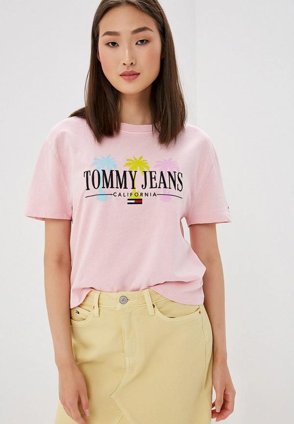 купить Футболка Tommy Jeans Tommy Jeans TO052EWFEMG1 по цене 3140 рублей