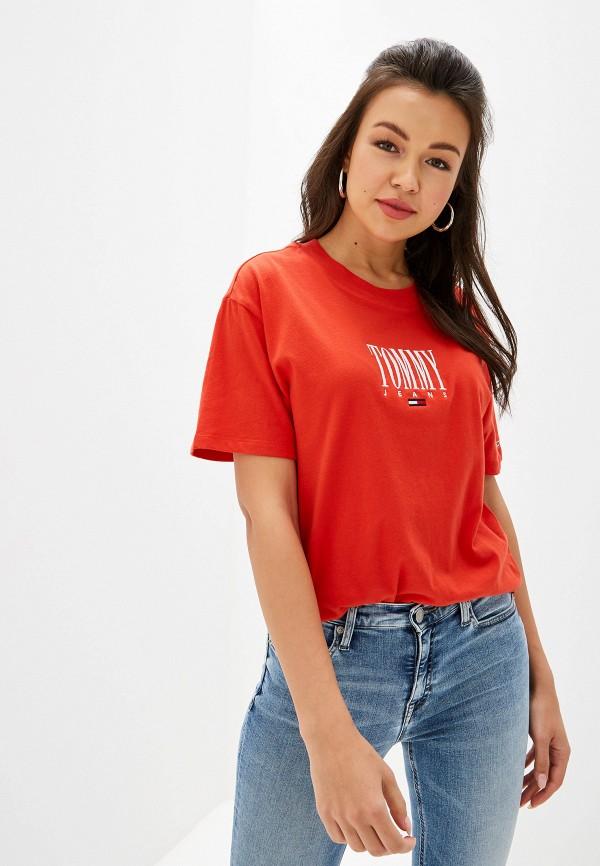 купить Футболка Tommy Jeans Tommy Jeans TO052EWFEMG8 по цене 3990 рублей
