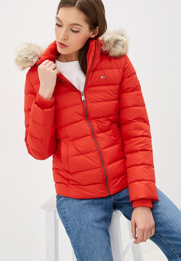 Пуховик Tommy Jeans Tommy Jeans TO052EWFEMJ6 пуховик tommy jeans tommy jeans to052ewdebl5