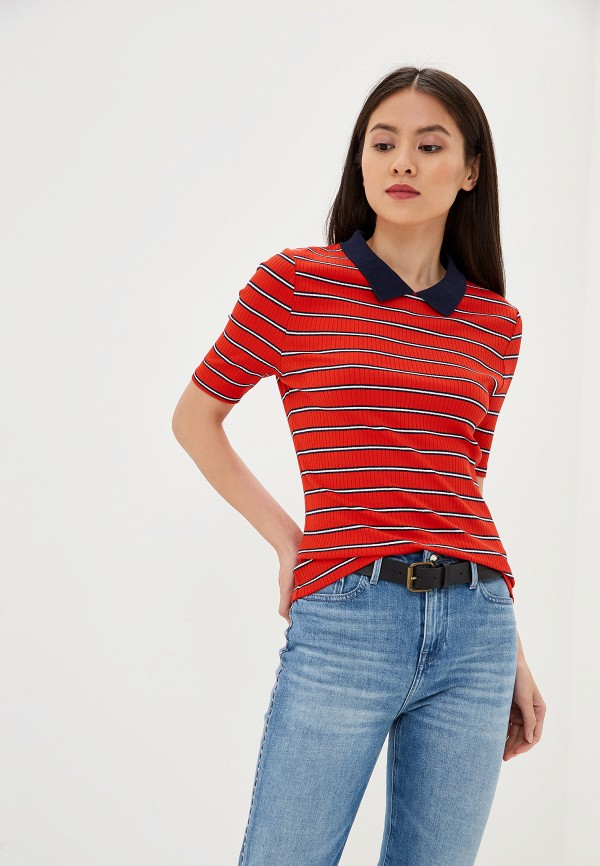 Поло Tommy Jeans Tommy Jeans TO052EWFEMK3 поло tommy jeans tommy jeans to052emfvyh8