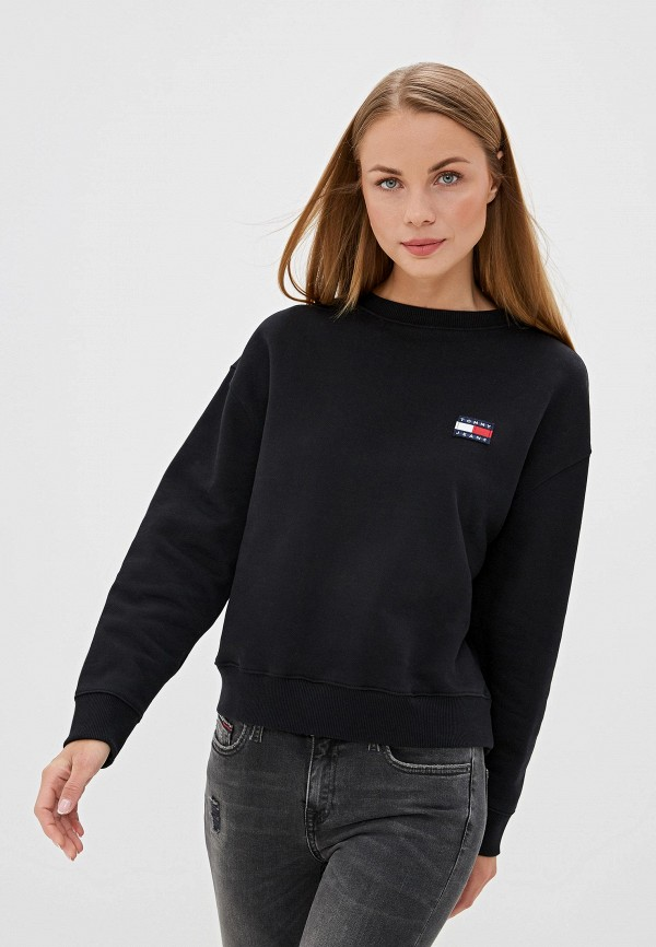 Свитшот Tommy Jeans Tommy Jeans TO052EWFEML2 свитшот tommy jeans tommy jeans to052embhrv5