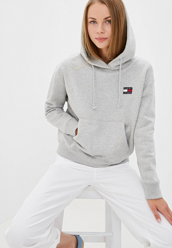 Худи Tommy Jeans Tommy Jeans TO052EWFEML4 худи tommy jeans tommy jeans to052ewbicw8