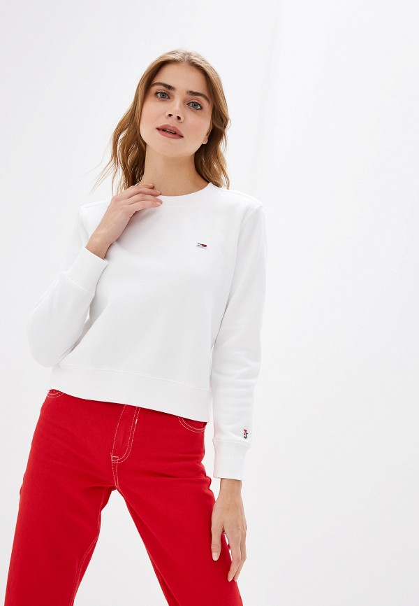 Свитшот Tommy Jeans Tommy Jeans TO052EWFEMN4 свитшот tommy jeans tommy jeans to052embwao8
