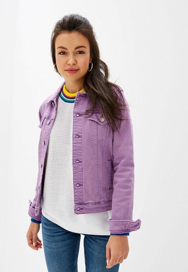 Куртка джинсовая Tommy Jeans Tommy Jeans TO052EWFEMO3 куртка tommy jeans tommy jeans to052emdebf1