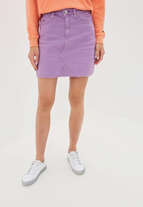 Юбка джинсовая Tommy Jeans Tommy Jeans TO052EWFEMP3 юбка джинсовая tommy jeans tommy jeans to052ewdecn9