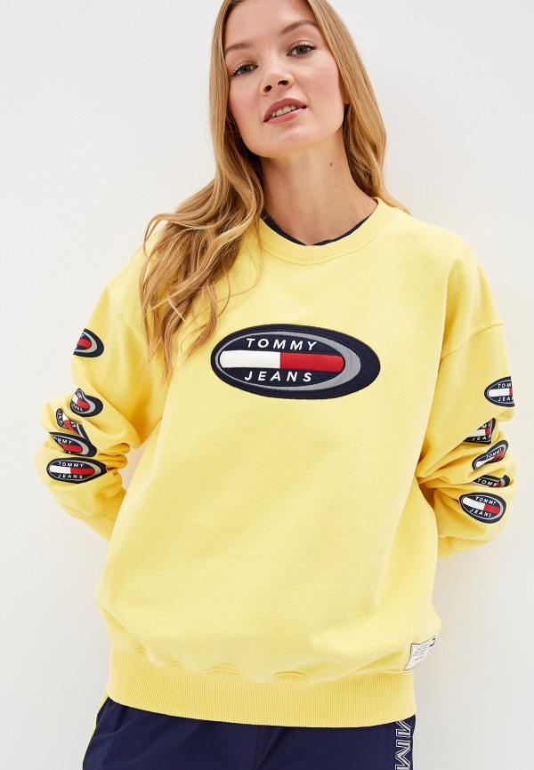 Свитшот Tommy Jeans Tommy Jeans TO052EWFMLW9 свитшот tommy jeans tommy jeans to052embhrv5