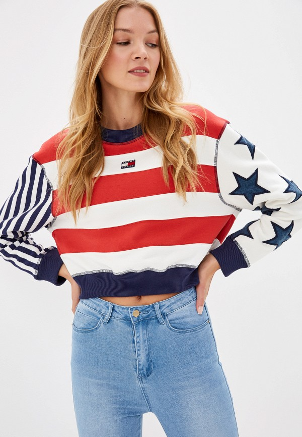 Свитшот Tommy Jeans Tommy Jeans TO052EWFMLX0 свитшот tommy jeans tommy jeans to052embwao8