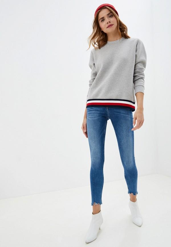 Фото 2 - женские джинсы Tommy Jeans синего цвета