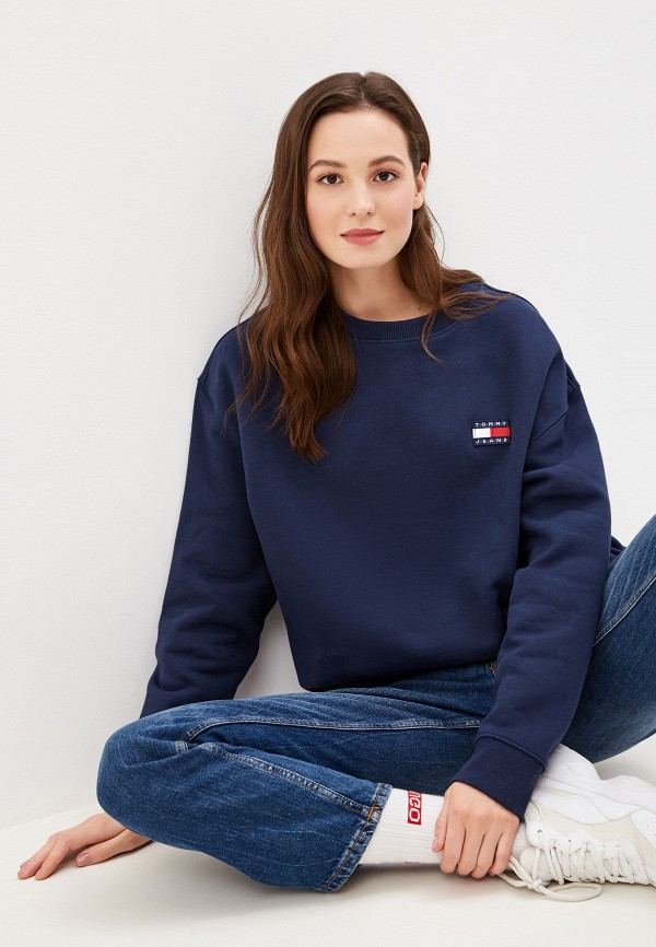Свитшот Tommy Jeans Tommy Jeans TO052EWFVVS9 свитшот tommy jeans tommy jeans to052embwao8