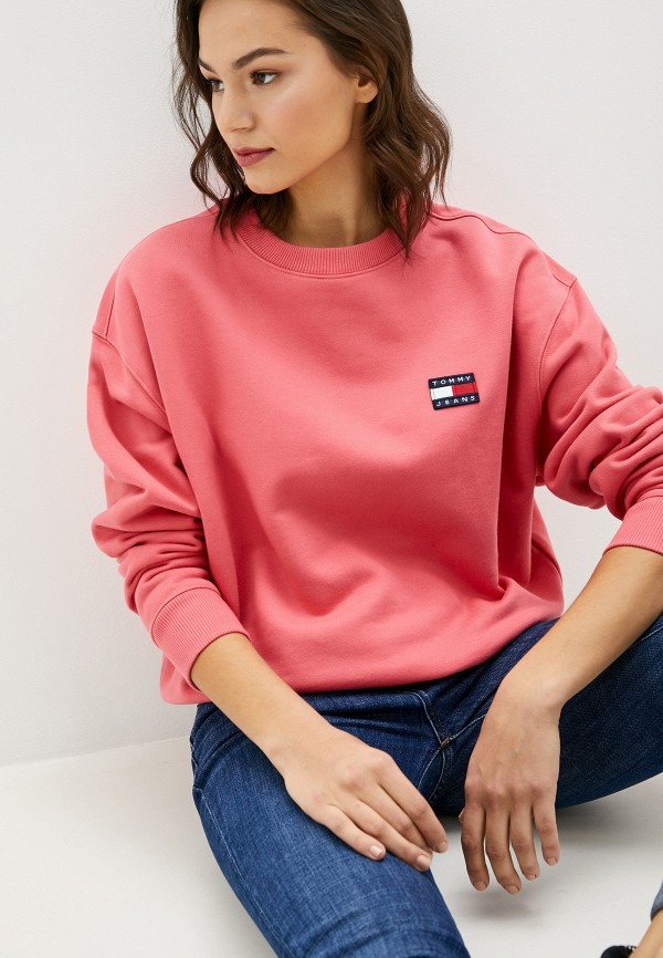 Свитшот Tommy Jeans Tommy Jeans TO052EWFVVT0 свитшот tommy jeans tommy jeans to052embwao8