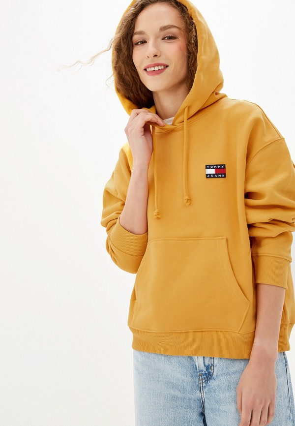 Худи Tommy Jeans Tommy Jeans TO052EWFVVT3 худи tommy jeans tommy jeans to052embhrv2