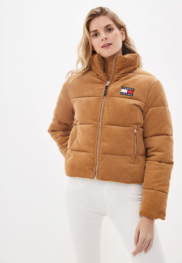 Куртка утепленная Tommy Jeans Tommy Jeans TO052EWFVVV2 куртка утепленная tommy jeans tommy jeans to052ewfvvv0