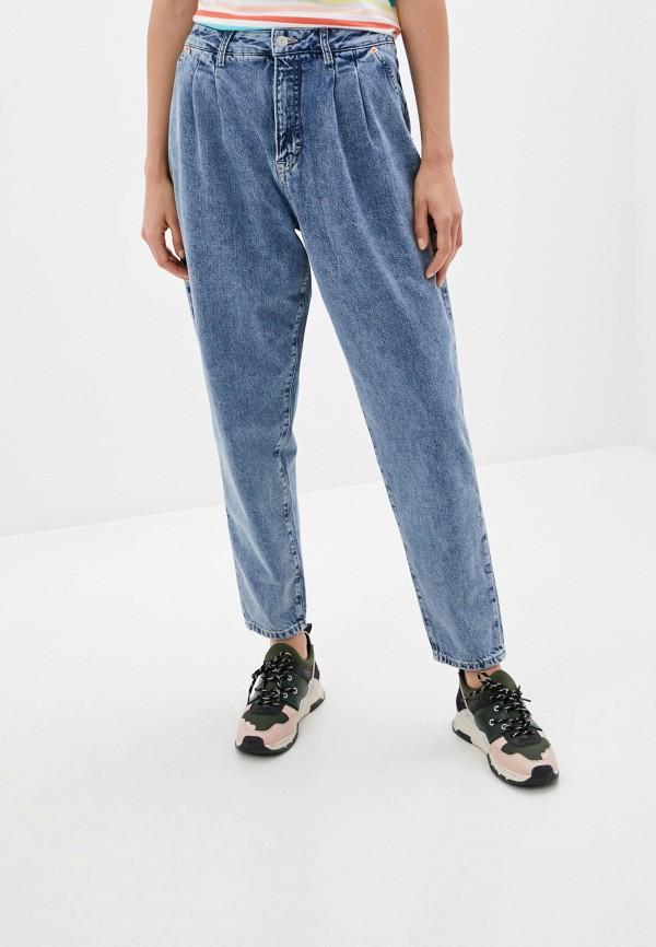 женские джинсы tommy jeans, голубые