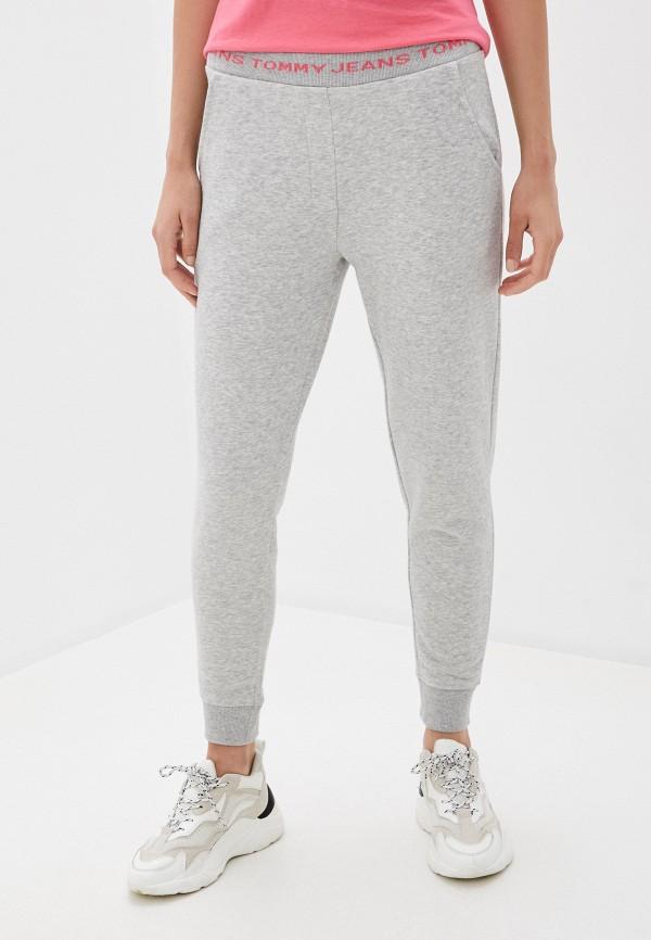 женские спортивные брюки tommy jeans, серые