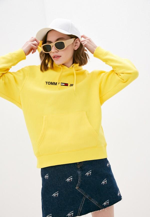 женские худи tommy jeans, желтые