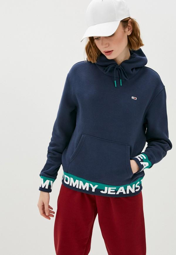 женские худи tommy jeans, синие