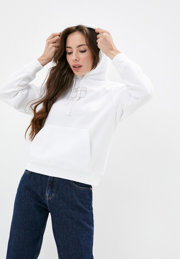 женские худи tommy jeans, белые