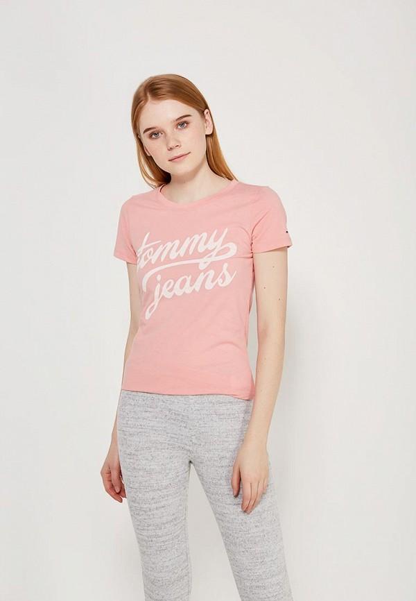 Футболка Tommy Jeans Tommy Jeans TO052EWZFW69 футболка tommy jeans tommy jeans to052ewbida4