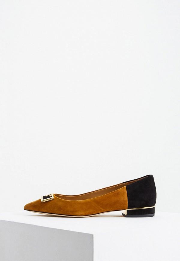 женские туфли tory burch, коричневые