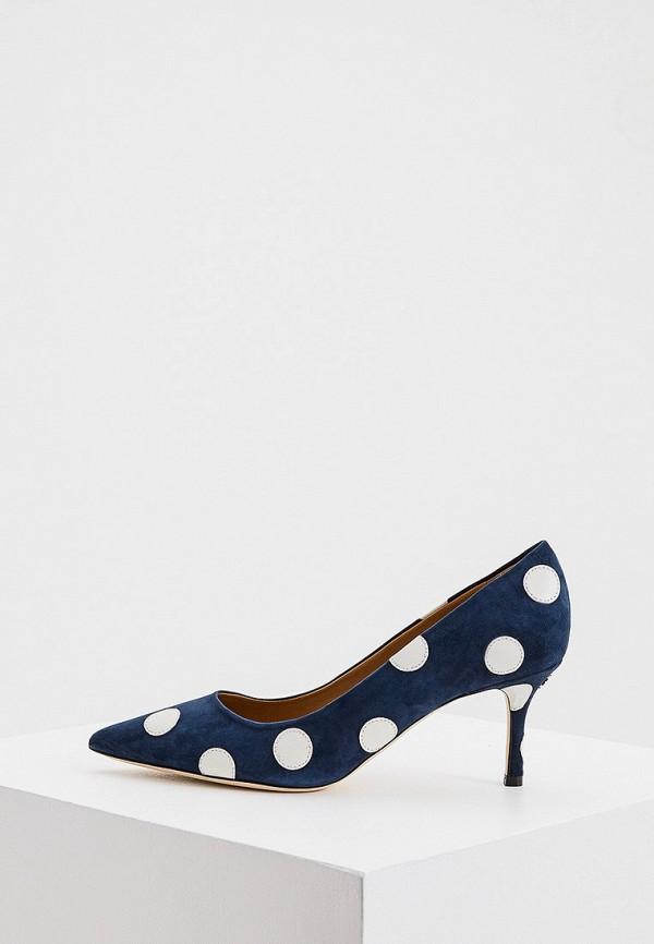 женские туфли-лодочки tory burch, синие