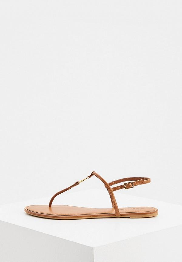 женские сандалии tory burch, коричневые