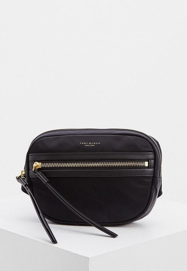 женская поясные сумка tory burch, черная