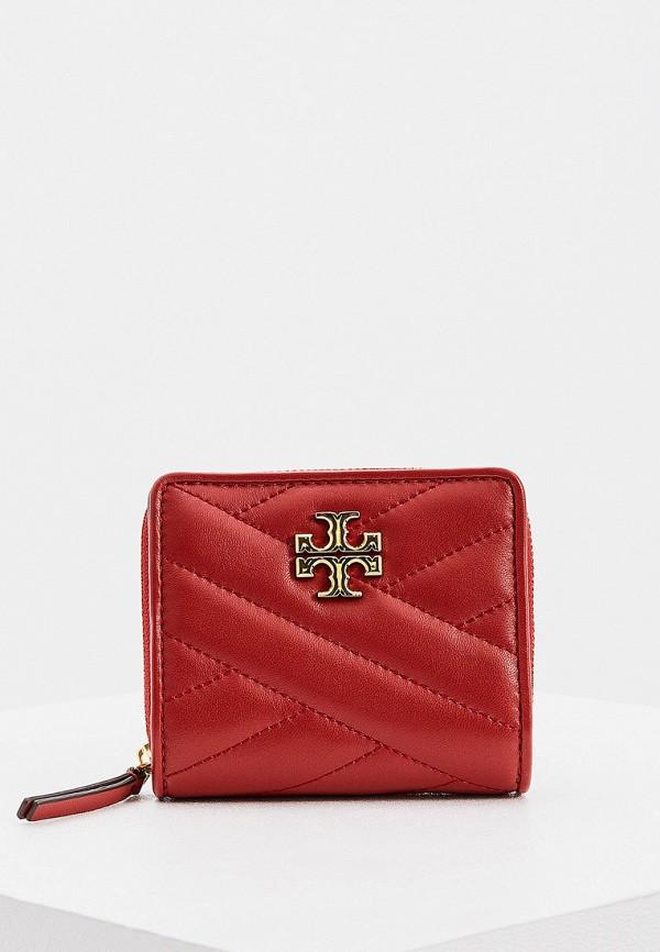 женский кошелёк tory burch, красный