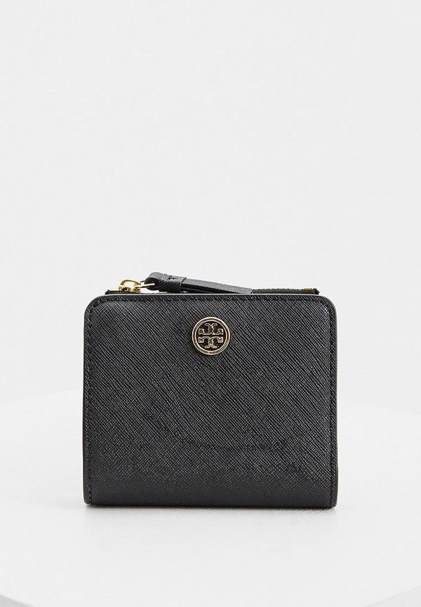 женский кошелёк tory burch, черный