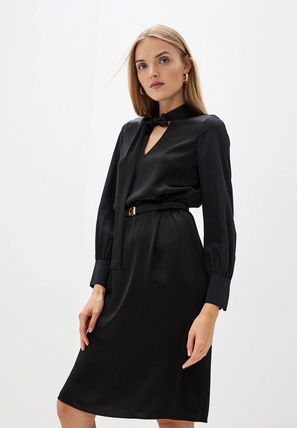женское платье tory burch, черное