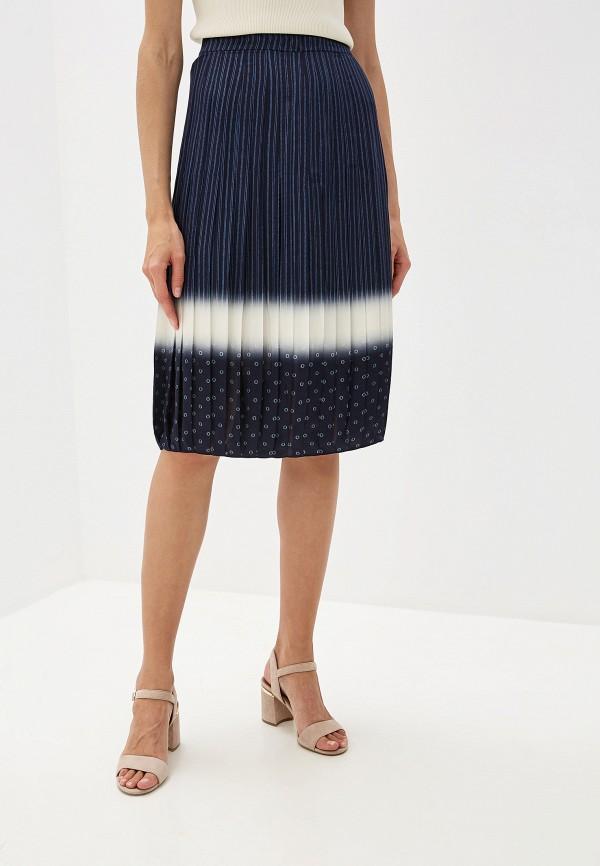 женская юбка tory burch, синяя