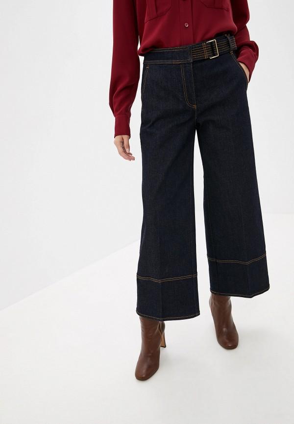 женские джинсы tory burch, синие