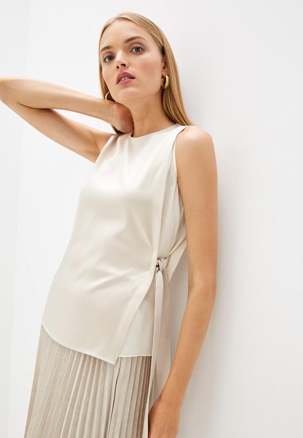 женская блузка tory burch, белая