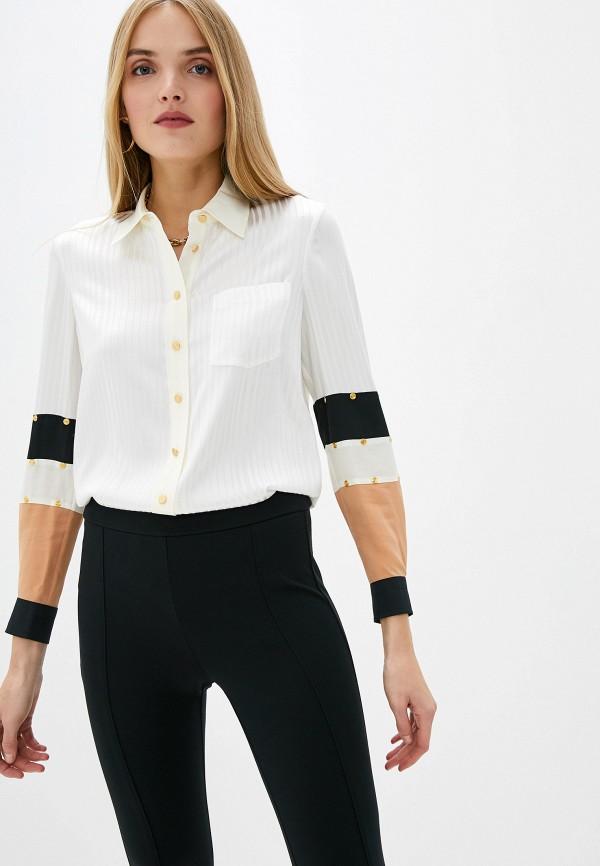 женская блузка с длинным рукавом tory burch, белая