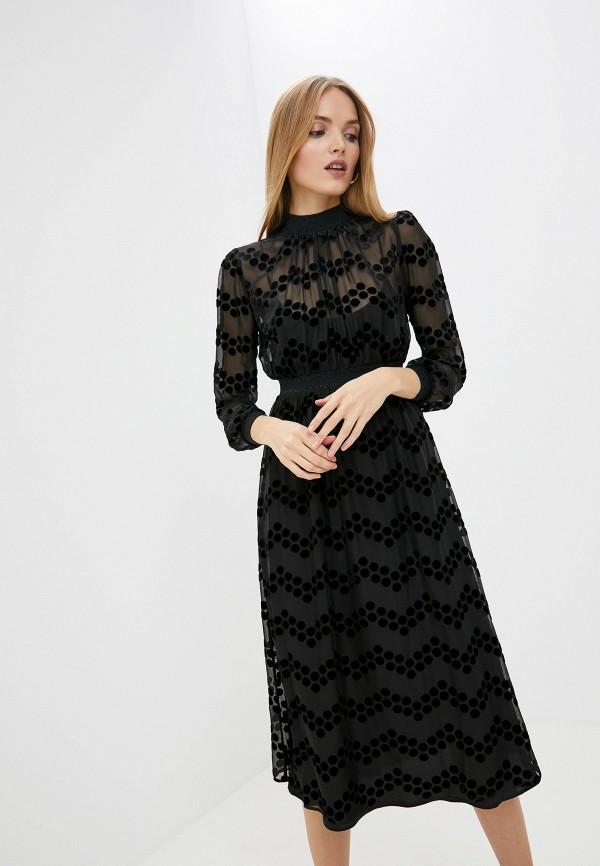 женское платье мини tory burch, черное