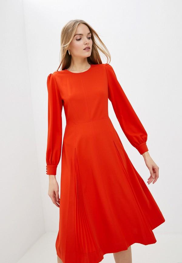 женское платье мини tory burch, красное