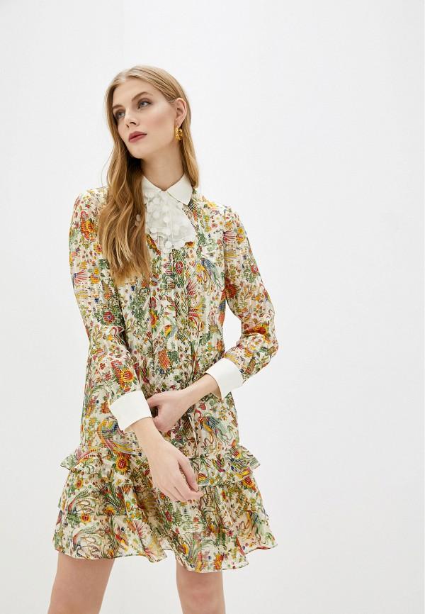 женское повседневные платье tory burch, разноцветное